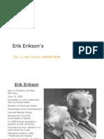 Eric Erikson's