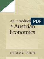 An Introduction to Austrian Economics - Thomas C. Taylor