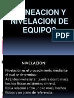 6.2 Alineacion y Nivelacion de Equipos