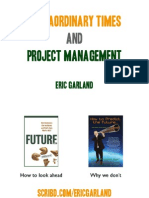 Extraordinary Times and Project Management