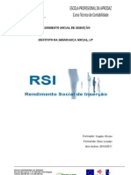 RENDIMENTO SOCIAL DE INSERÇÃO-SSS