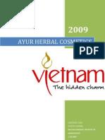Global Marketing Strategies of Ayur