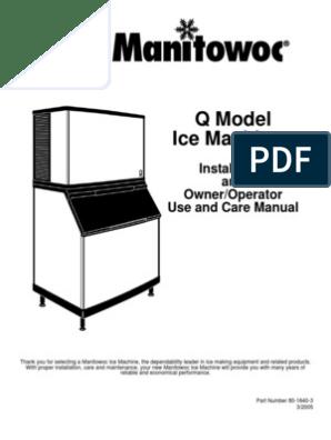 MHH - Qy1804a Electric | Fuse (Electrical) | Refrigeration Manitowoc Model Qdo A Wiring Diagram on