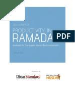 2011 Productivity in Ramadan Report