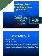 Www.vibration.org Presentation Overhung Fans