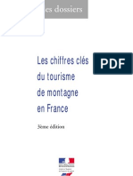 chiffres clées de tourisme de montagne en France
