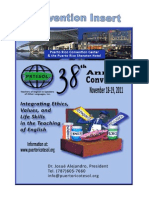 2011 PRTESOL Convention Insert