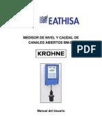 MBM90.PDF Manual Medidor de Flujo en Canales Abiertos