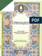 l'Obligation de Se Conformer a La Sunna Du Prophete