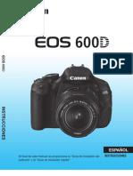 Canon Eos 600d Manual de Instrucciones