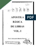 Apostila básica de Libras  vol. 1 - PARTE 1