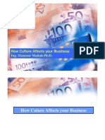 How Culture Affects Your Business