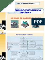 Tema 2 - Sistemas de Sujeción de Piezas en máquina