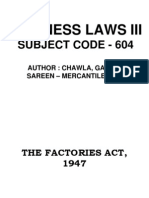 Chap 1 Factories Act 1947