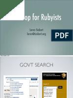 Hadoop for Rubyists