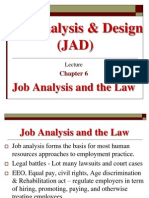 Job Analysis & Design Ch 6