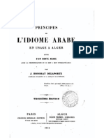 l'Idiome Arabe en Usage