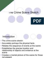 Crime Scene Sketch
