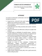 Actividad Blog Y Redes Sociales