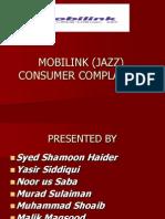 Mobilink (Jazz) Consumer Complaints