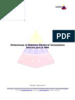 Informe para la ONU sobre Violaciones al Sistema Electoral Venezolano-0