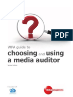 Choosing and Using Media Auditor