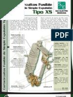 Especificaciones Cortacircuito Fusible