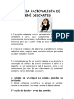O Racionalismo de Descartes
