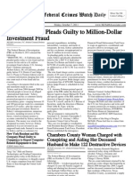 October 7, 2011 - The Federal Crimes Watch Daily