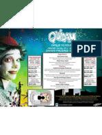 Cirque du Soleil Quidam Dinner Package