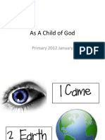 As A Child of God