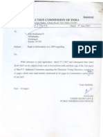 Expert Committee Report on EVM