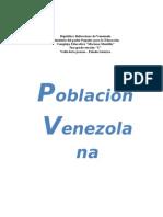 Distribucin de La Poblacin en Venezuela
