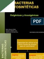 BACTERIAS FOTOSINTÉTICAS TEMA 2