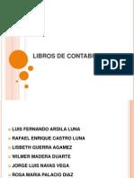 Diapositivas de Libros Contables