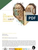 """Exposición """"La química del amor 50X50X50X50"""""""