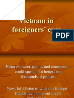 Vietnam in Foreigners Eyes