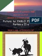 Pictura Lui Pablo Picasso (Partea a II-A)