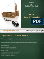 Retail Logistics and IT