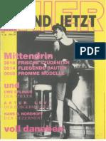 8610 HI Auszüge aus der 1. Ausgabe unter dem  neuen Namen HIER UND JETZT Okt. 86
