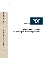25809 Rousseau JJ Du Contrat Social