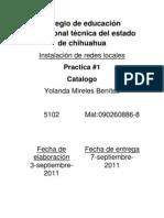 practica 1 catalogo