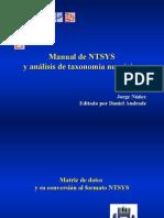 Cluster Analisis NTSYS Jorge Jue 28