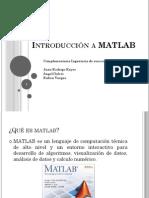 Introdución a MATLAB