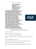 Savitri Book 1 Canto 1 Post 20