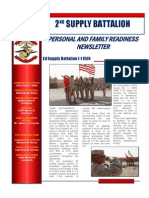 2nd Supply BN FWD October Family Readiness Newsletter