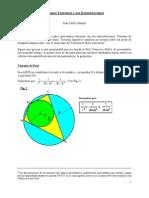 Algunos Teoremas y Sus Demostraciones