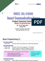 [3] SL1000 Training (Basic Programming) (Issue 1 0)