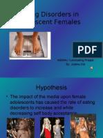 Eating Disorders in Teenage Females