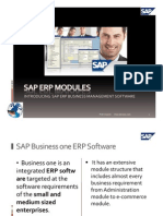 Sap ERP Modules Introduction